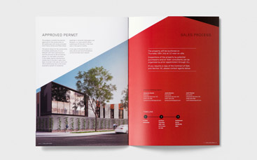 millers road brochure design portfolio