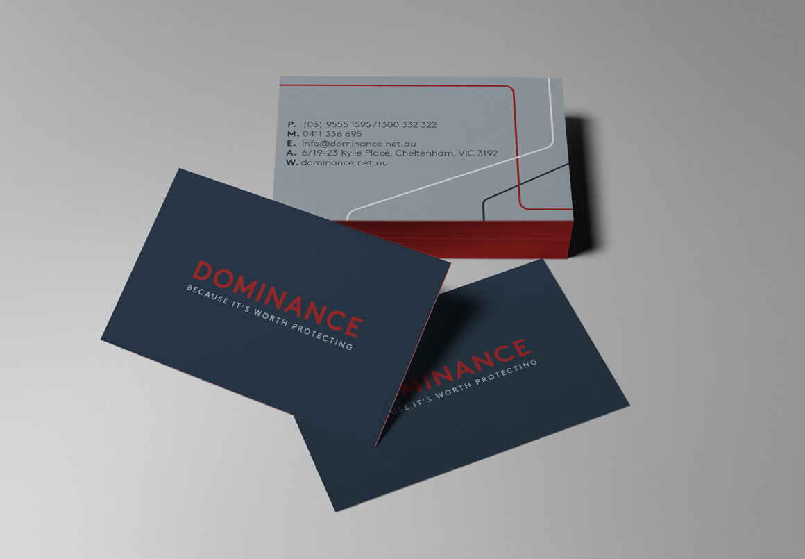 dominance business cards