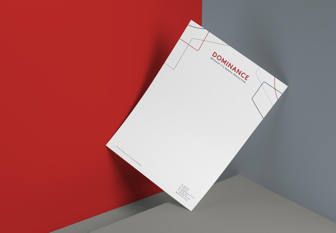 dominance letterhead
