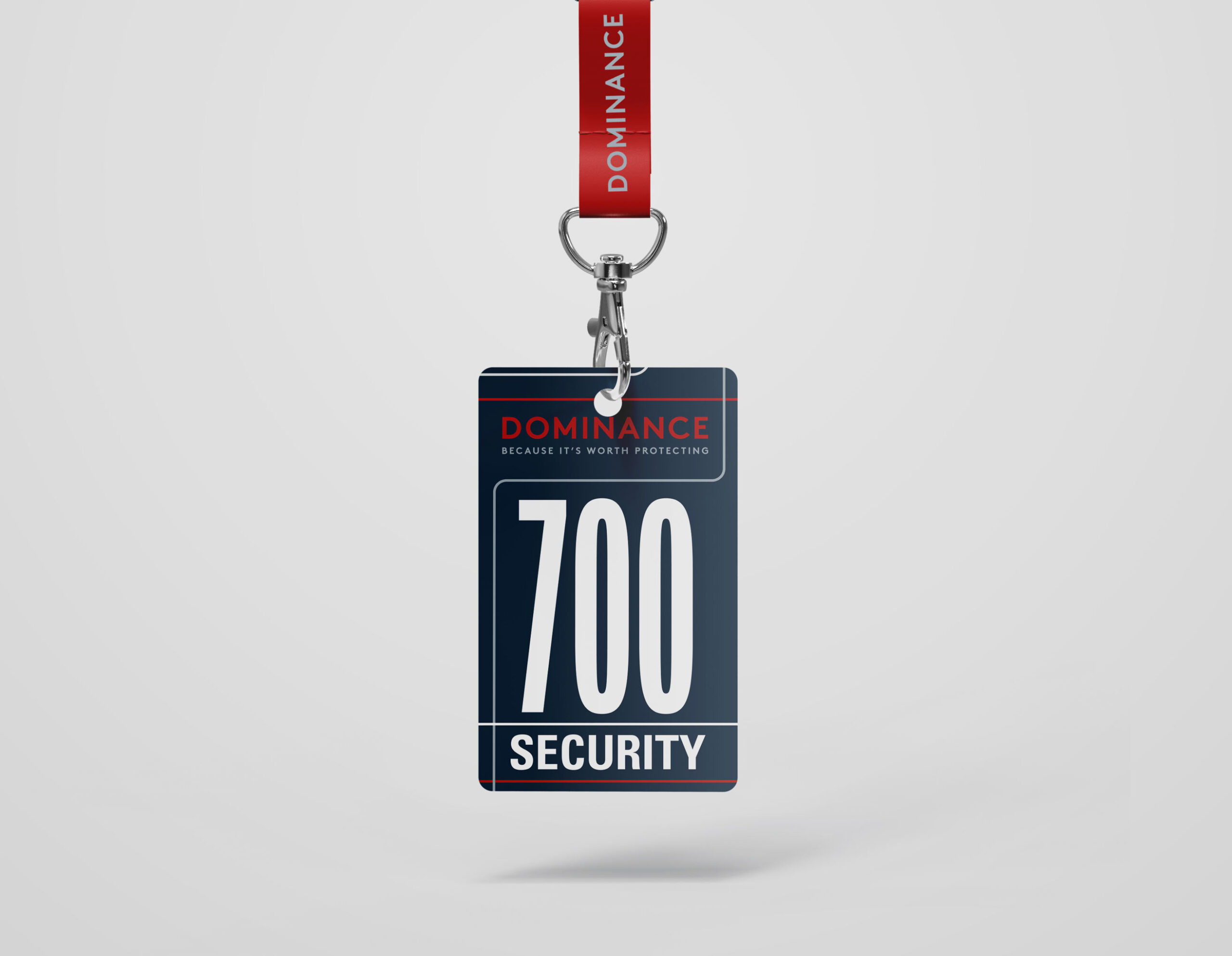 dominance security tag